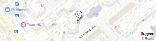 Рандеву на карте Зеленодольска