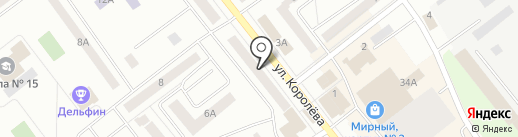 Смешарик на карте Зеленодольска