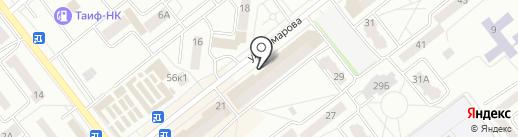 Сливки на карте Зеленодольска