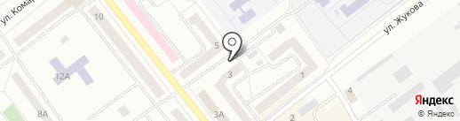 Киоск по продаже питьевой воды на карте Зеленодольска