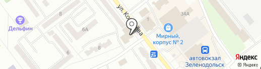 Магазин бытовой химии на карте Зеленодольска