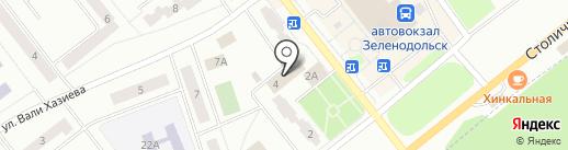 Алые паруса на карте Зеленодольска