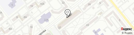 Amore Mio на карте Зеленодольска