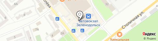 Мажор на карте Зеленодольска