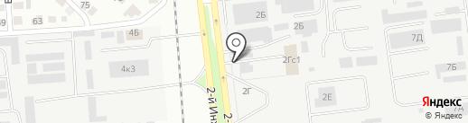 TurboOST на карте Ульяновска