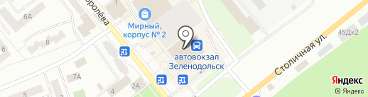 Иль-декор на карте Зеленодольска