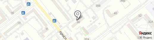 Челка на карте Зеленодольска