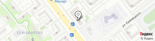 Ангелина на карте Ульяновска