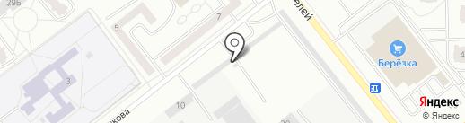 Рапит на карте Зеленодольска