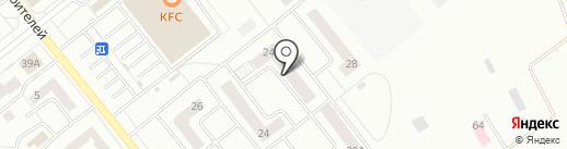 Акварели на карте Зеленодольска