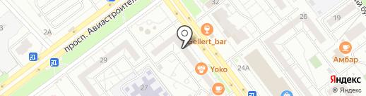 Минимакс на карте Ульяновска