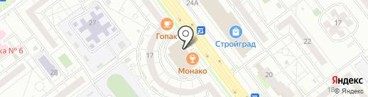 Магазин чая и кофе на карте Ульяновска