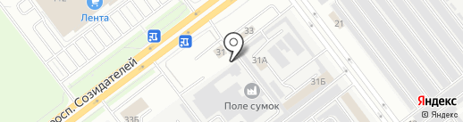 LIFE IN DRIVE на карте Ульяновска