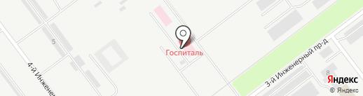 Областной клинический противотуберкулезный диспансер на карте Ульяновска