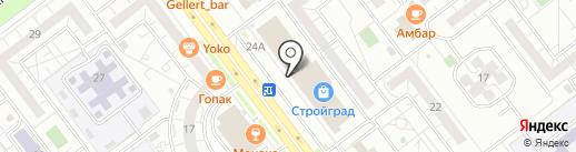 ЕвроКомфорт на карте Ульяновска
