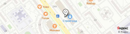 Окреп на карте Ульяновска