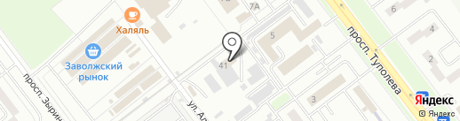 Добрый свет на карте Ульяновска