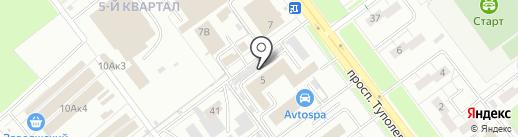 ЖЭУ №6 на карте Ульяновска