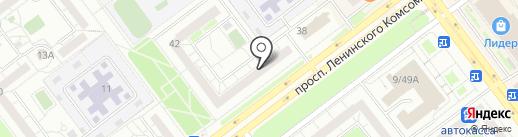 Забава на карте Ульяновска