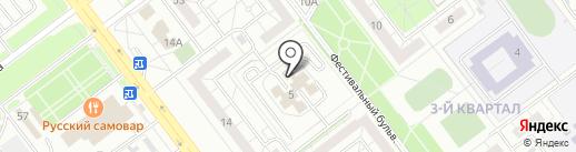 Прометей на карте Ульяновска