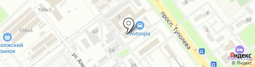 АвтоSPA на карте Ульяновска