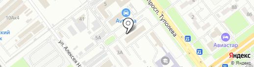 Лифт-Подъёмник на карте Ульяновска