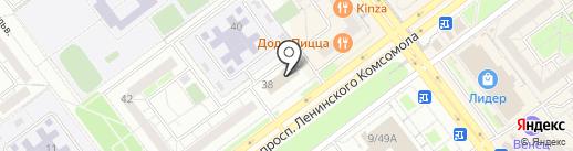 Юридическая компания на карте Ульяновска