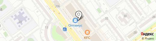 Магазин бижутерии на карте Ульяновска