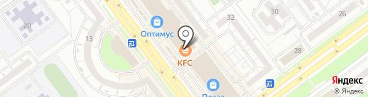 Мастерская по ремонту телефонов на карте Ульяновска