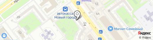 Gla Murr на карте Ульяновска