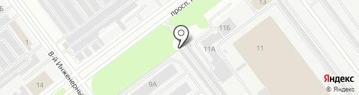 Икарус на карте Ульяновска