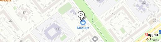 ЖЭУ-4 на карте Ульяновска