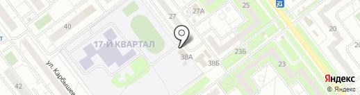 Ермак на карте Ульяновска