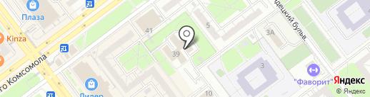 Мастер на карте Ульяновска