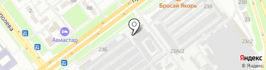 Консул Авто на карте Ульяновска