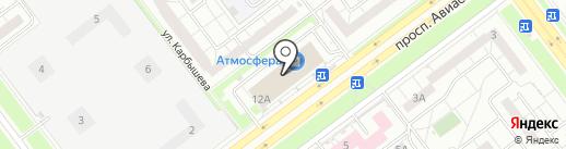 АвтоФайв на карте Ульяновска