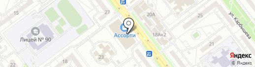 Семейный на карте Ульяновска