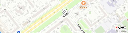 Цветландия на карте Ульяновска