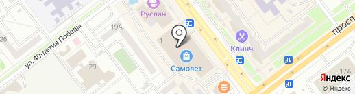 iClub shop на карте Ульяновска