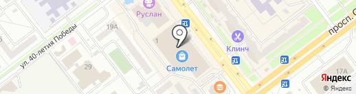 Бегемотик на карте Ульяновска