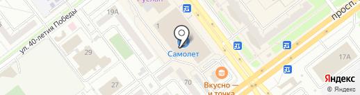 Брудершафт на карте Ульяновска