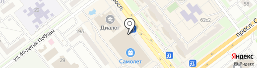 Бизнес-Групп на карте Ульяновска