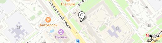 Суши н-н-нада? на карте Ульяновска