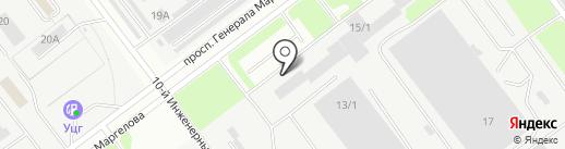Транспортная компания на карте Ульяновска