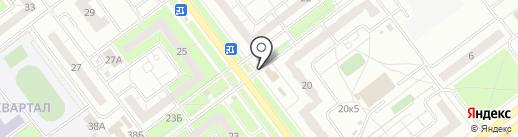 Магазин бытовой химии на карте Ульяновска