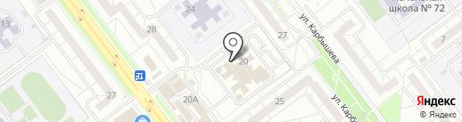 Зазеркалье на карте Ульяновска