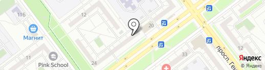 Стекломастер на карте Ульяновска