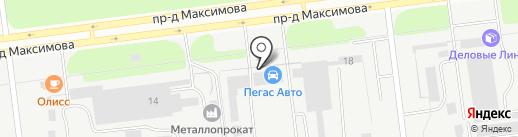 Дизельснабсервис на карте Ульяновска