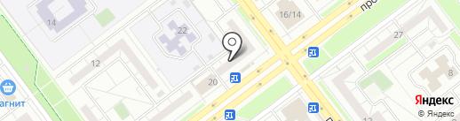 Сириус на карте Ульяновска