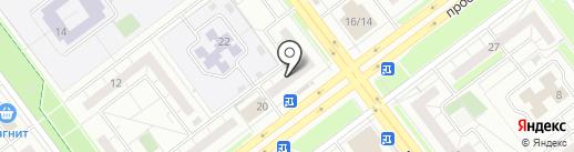 Фабрика снов на карте Ульяновска